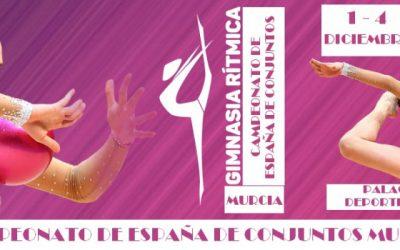 Murcia acoge en diciembre el Campeonato de España de Conjuntos de Gimnasia Rítmica